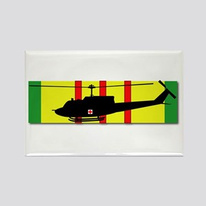 Vietnam - VCM - UH-1 Huey - Medie Rectangle Magnet